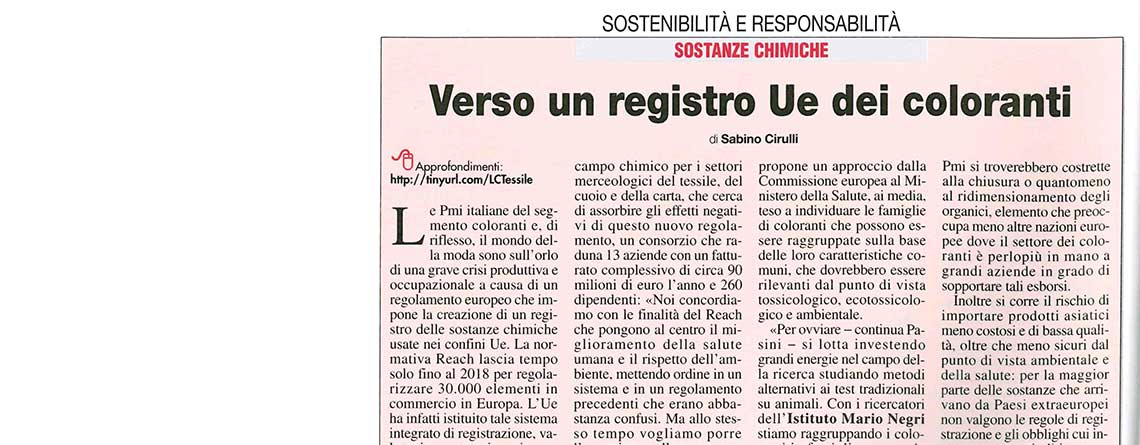 Largo Consumo 5/2016 – Verso un registro Ue dei coloranti